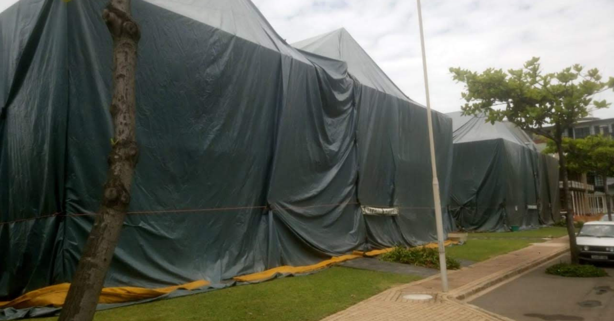 tented fumigation